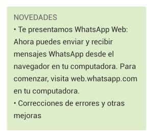 Imagen WhatsApp  tienda de aplicaciones - Mar Carrillo