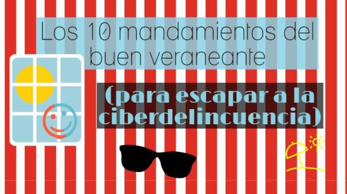 10 mandamientos del buen veraneante digital - Mar Carrillo
