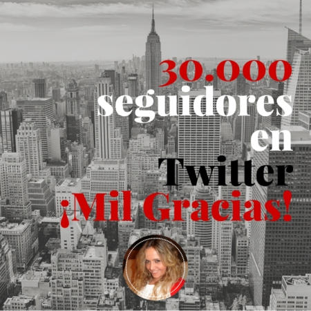 30.000 seguidores en Twitter - Mar Carrillo