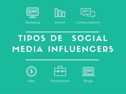 tipos social media influencers Mar Carrilo