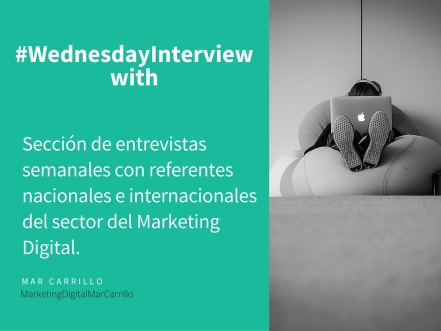 #wednesdayInterview with - Mar Carrillo