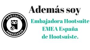 Mar Carrillo embajadora Hootsuite España