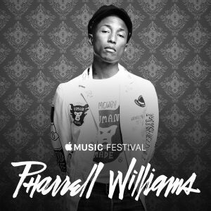 #applemusicfestival Mar Carrillo Pharrell Williamns