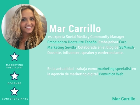 Mar Carrillo Marketing Digital Hootsuite social media Community manager