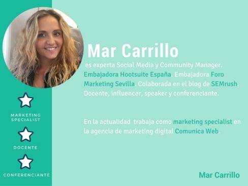 Mar Carrillo Marketing Digital Hootsuite social media Community manager