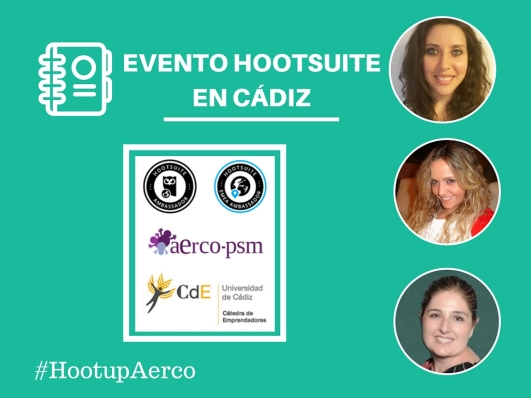 Evento hootsuite #hootupAerco Mar Carrillo