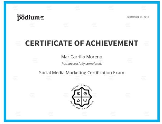 Social Media Marketing Mar Carrillo Hootsuite Podium