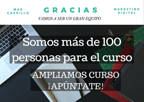 Mar Carrillo curso online gratis