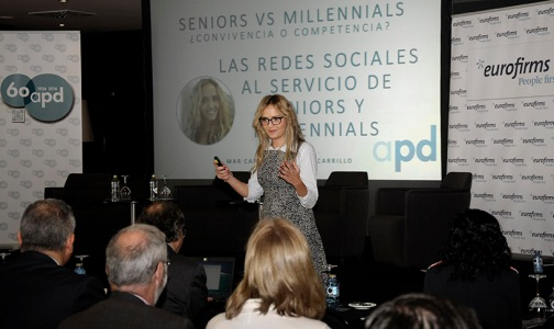 Mar Carrillo jornada APD millennials