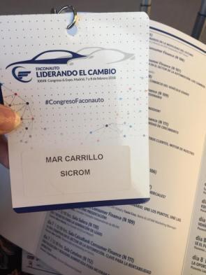 Congreso Faconauto Mar Carrillo