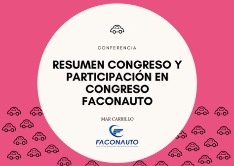 Congreso Faconauto Mar Carrillo