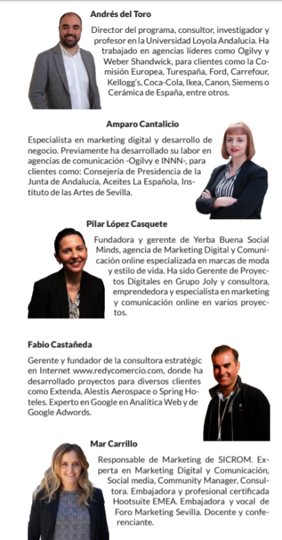 master marketing digital mar carrillo docente